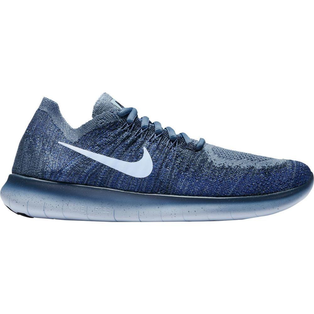 ナイキ Nike レディース ランニング・ウォーキング シューズ・靴【Free RN Flyknit 2017 Running Shoes】Ocean Fog/Blue/White
