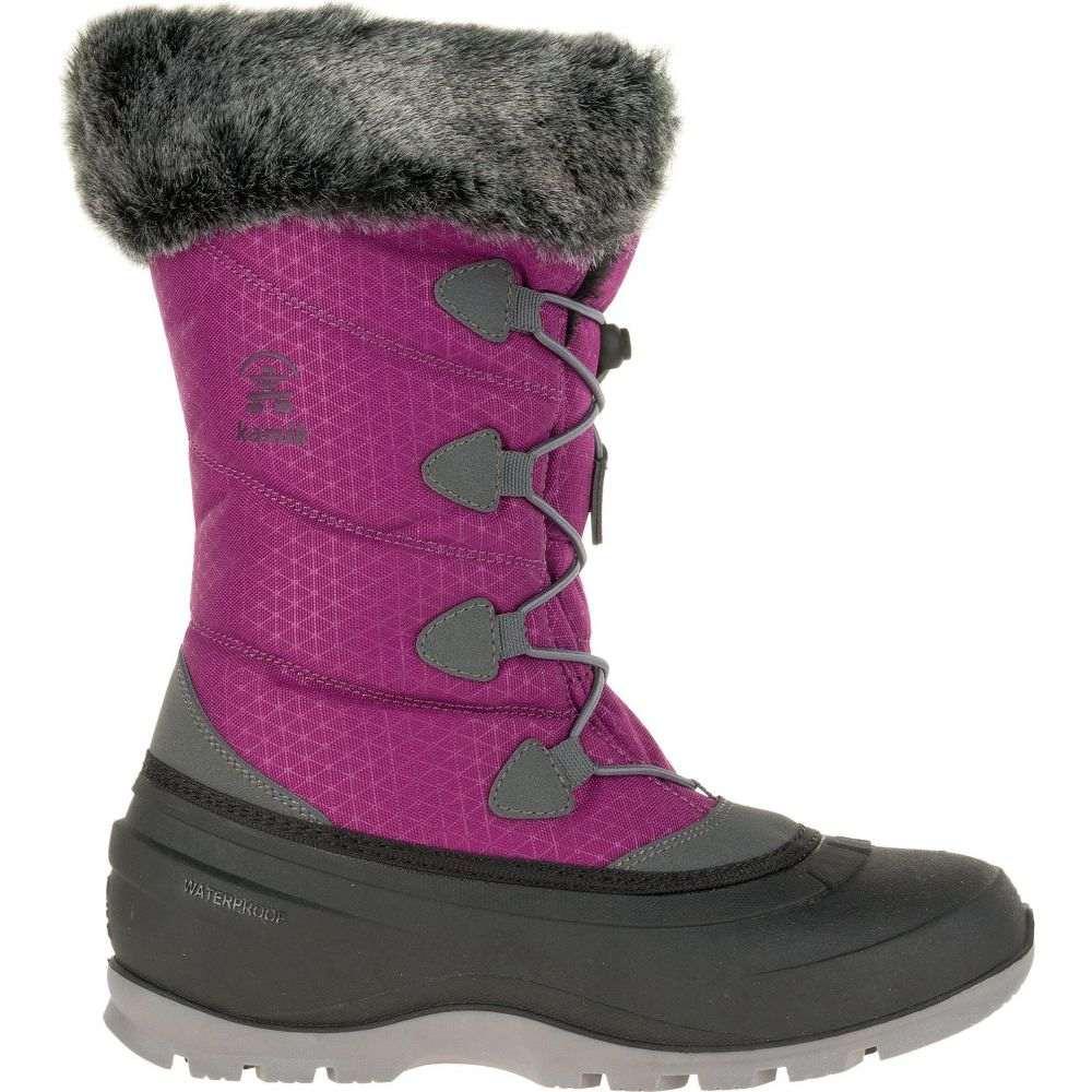 カミック Kamik レディース ブーツ ウインターブーツ シューズ・靴【Momentum2 200g Waterproof Winter Boots】Violet