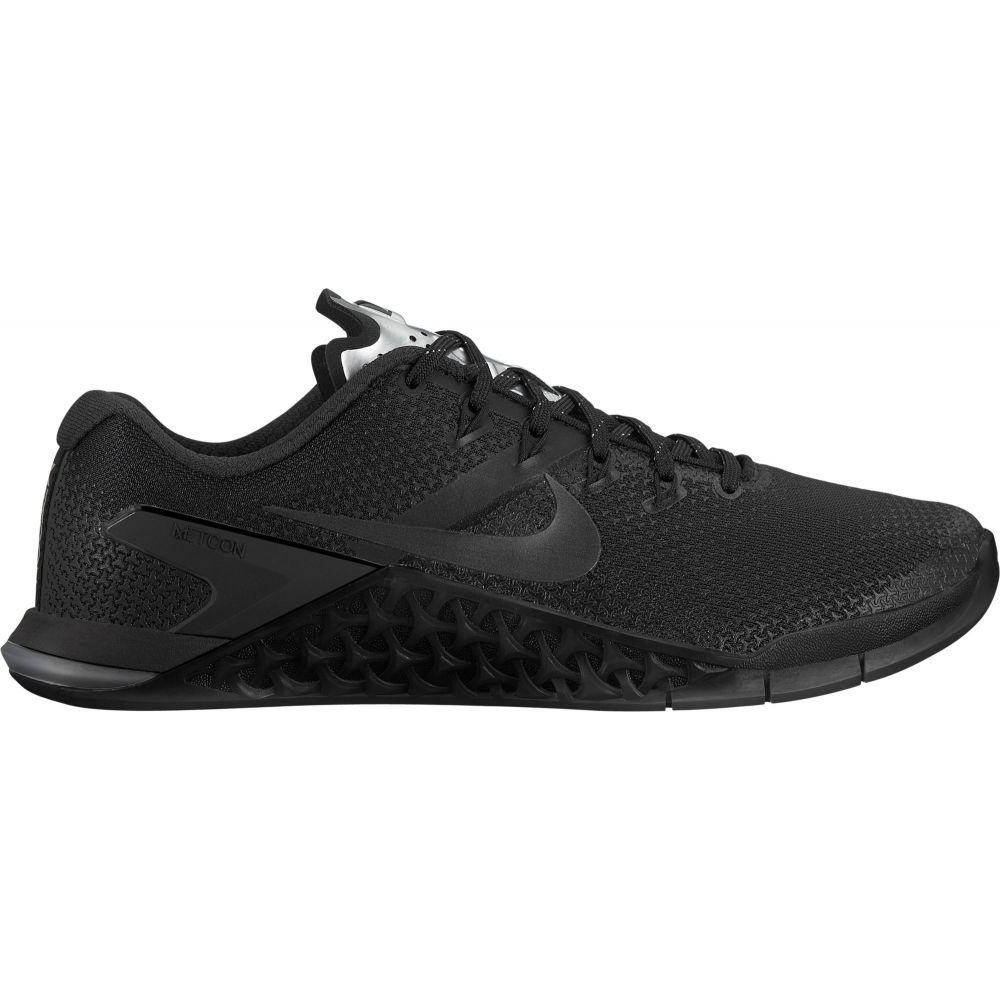 ナイキ Nike レディース フィットネス・トレーニング シューズ・靴【Metcon 4 Training Shoes】Black/Black