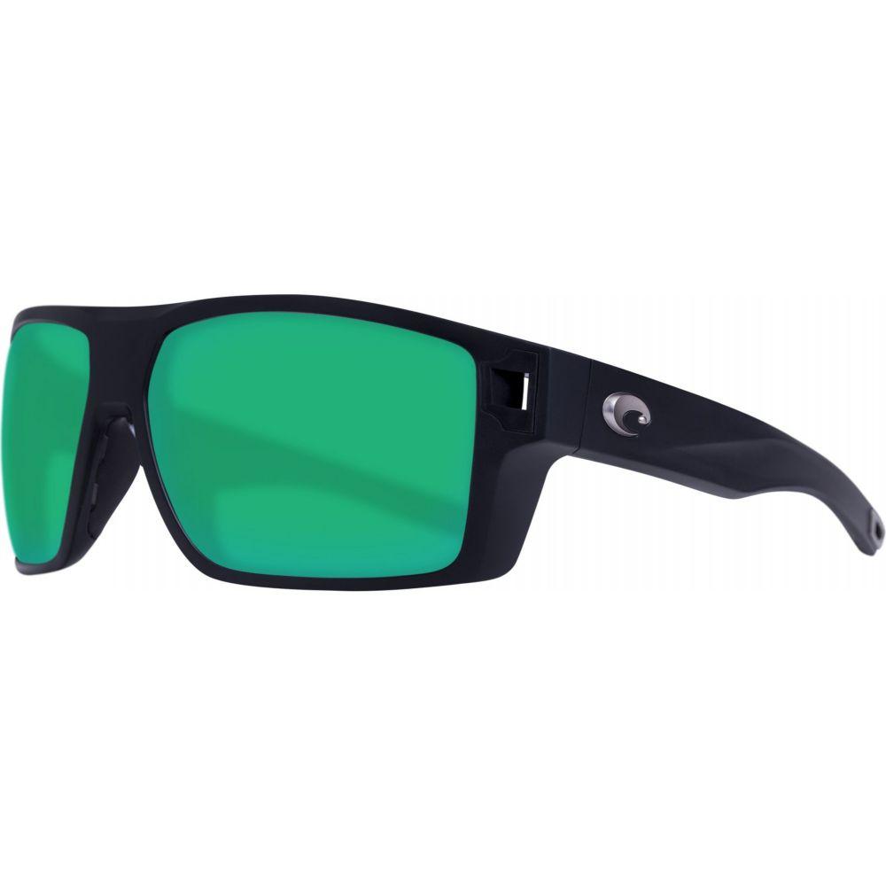 コスタデルメール Costa Del Mar レディース メガネ・サングラス 【Diego 580P Sunglasses】Matte Black/Green