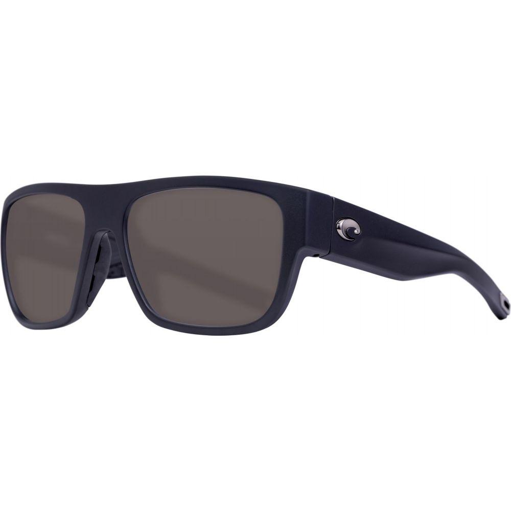 コスタデルメール Costa Del Mar レディース メガネ・サングラス 【Sampan 580P Sunglasses】Matte Black/Gray