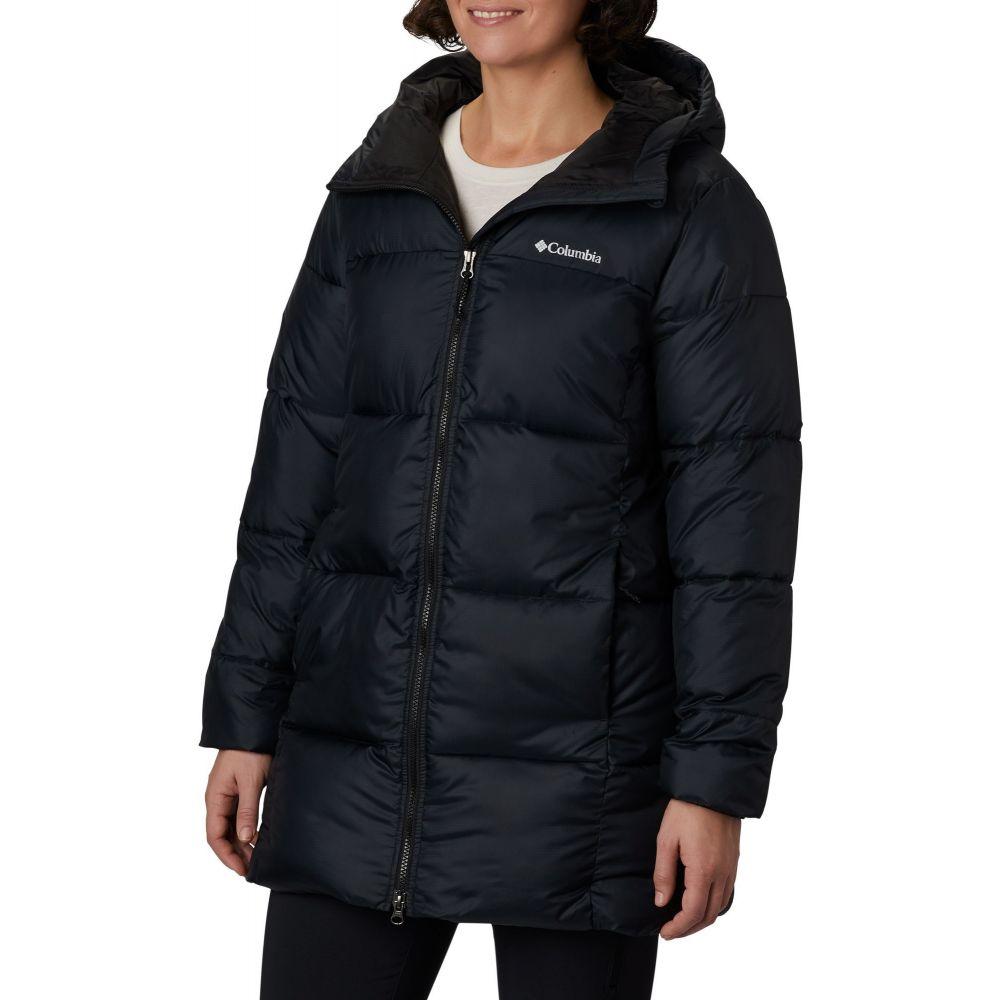 コロンビア Columbia レディース ジャケット フード アウター【Puffect Mid Hooded Jacket】Black