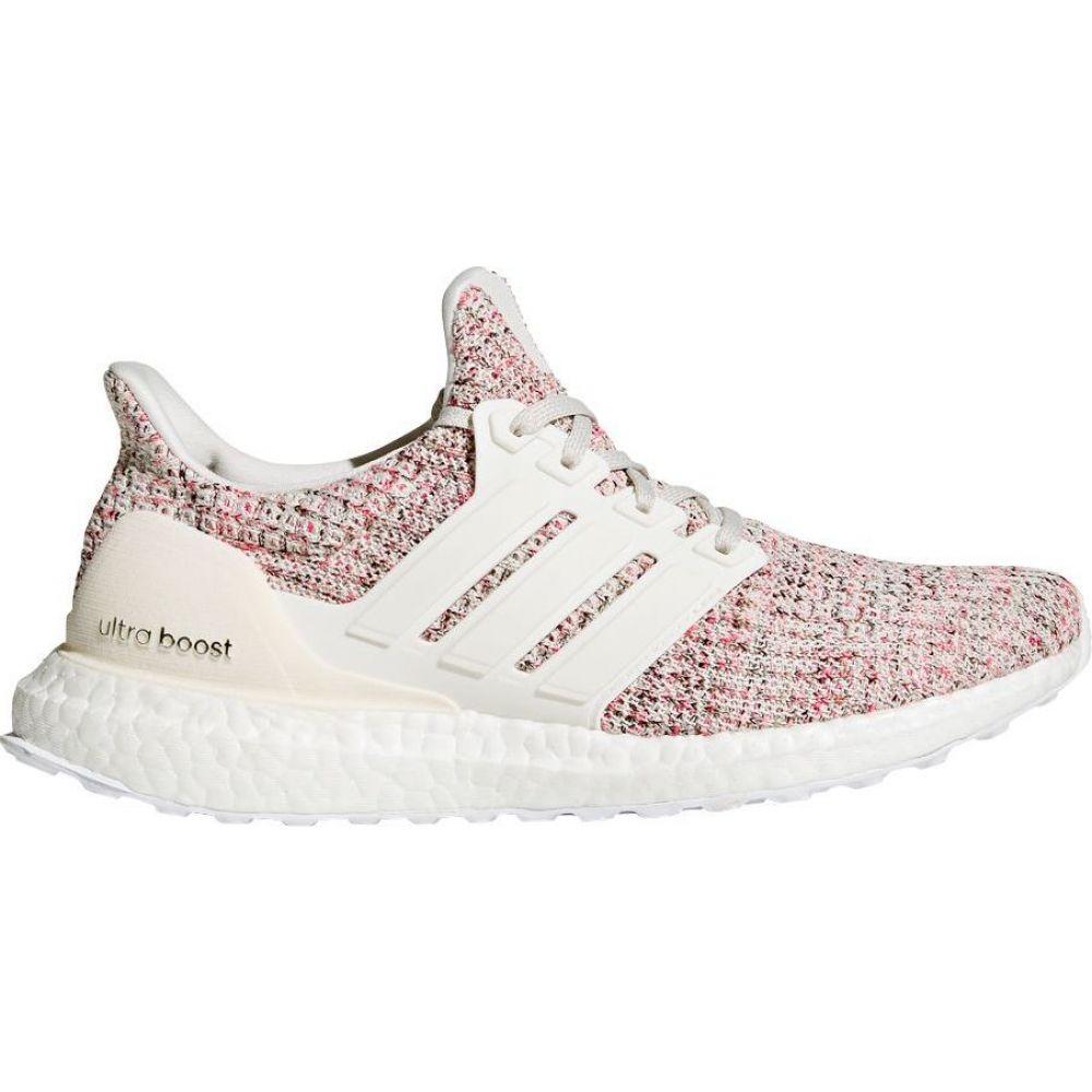 アディダス adidas レディース ランニング・ウォーキング シューズ・靴【Ultraboost Running Shoes】White/Pink