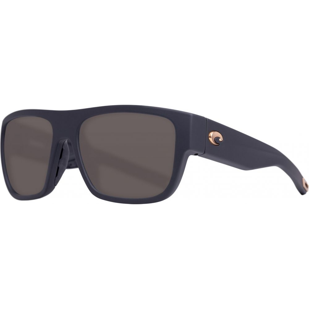 コスタデルメール Costa Del Mar レディース メガネ・サングラス 【Sampan 580P Sunglasses】Matte Black Ultra/Gray