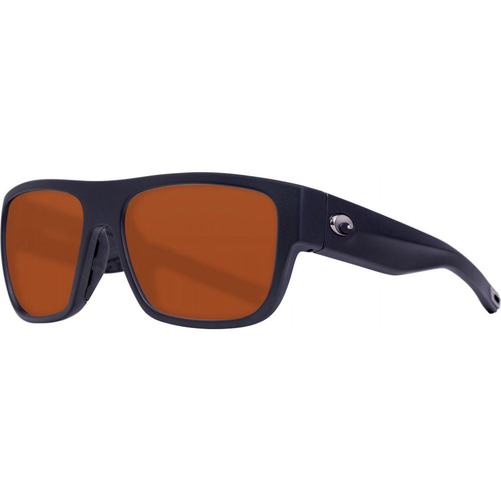 コスタデルメール Costa Del Mar レディース メガネ・サングラス 【Sampan 580P Sunglasses】Matte Black/Copper