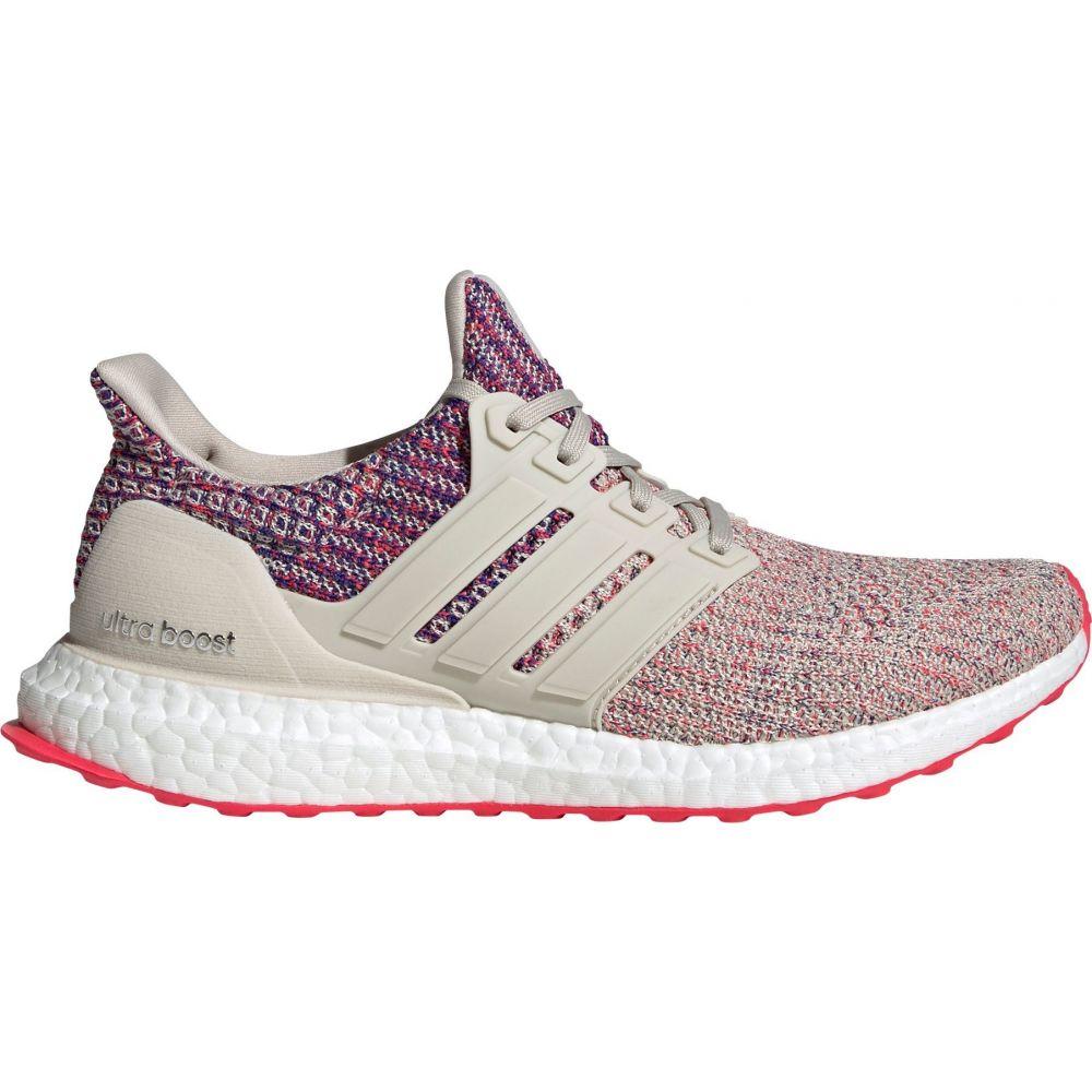 アディダス adidas レディース ランニング・ウォーキング シューズ・靴【Ultraboost Running Shoes】Tan/Red