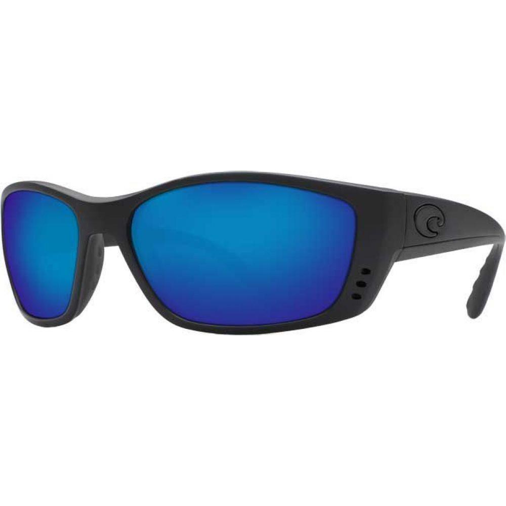 コスタデルメール Costa Del Mar レディース メガネ・サングラス 【Fisch 580G Polarized Sunglasses】Blackout/Blue