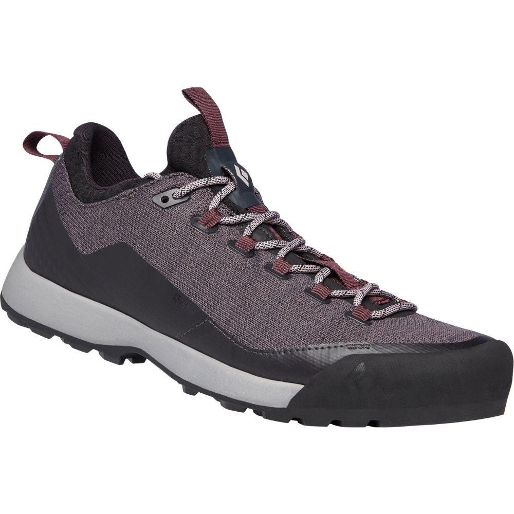 ブラックダイヤモンド Black Diamond レディース クライミング アプローチシューズ シューズ・靴【Mission LT Approach Climbing Shoes】Anthracite