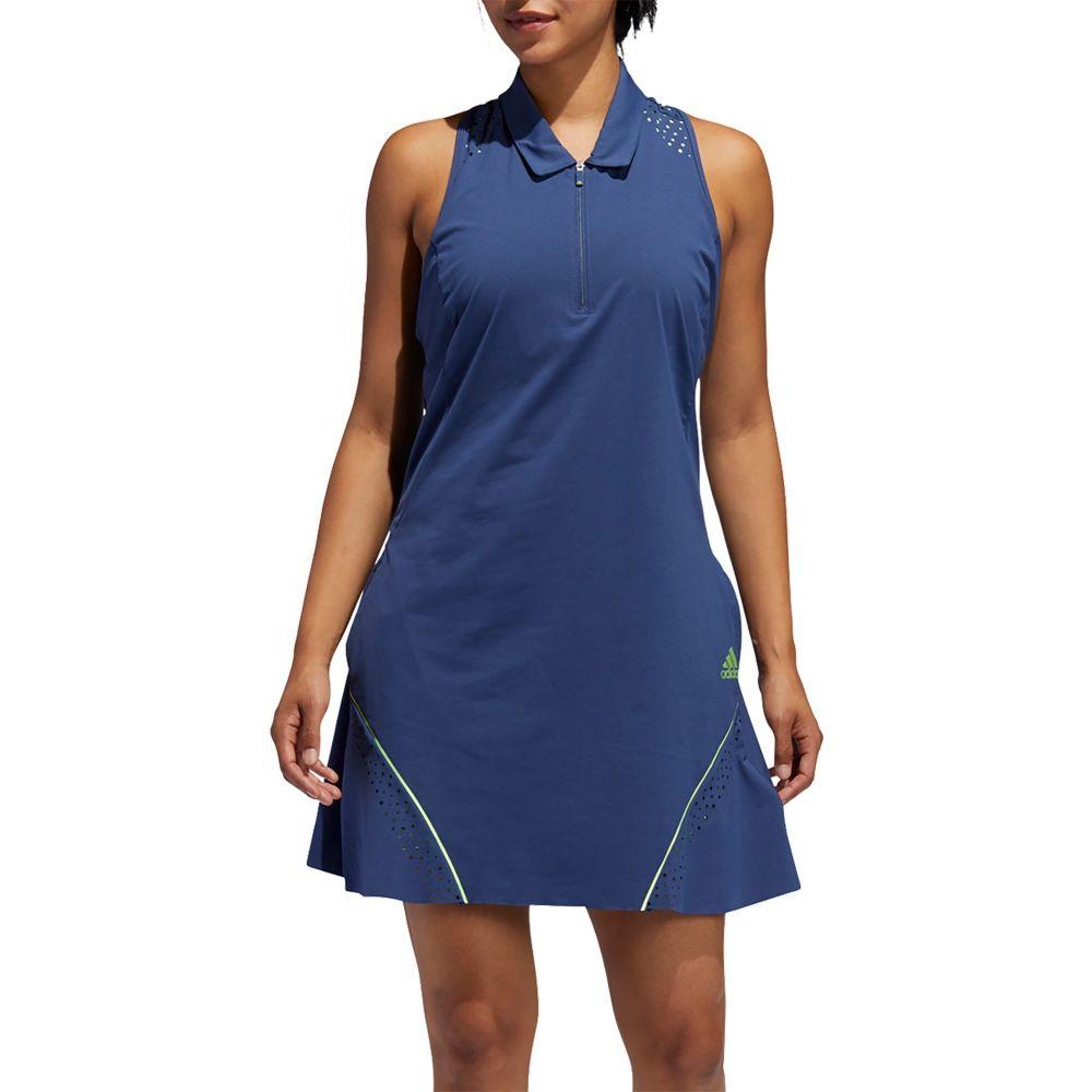 アディダス adidas レディース ゴルフ ノースリーブ ワンピース トップス【Perforated Color Pop Sleeveless Golf Dress】Tech Indigo