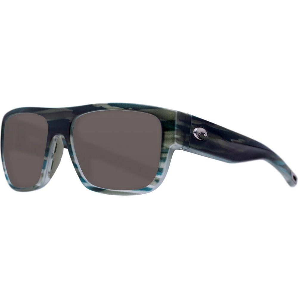 コスタデルメール Costa Del Mar レディース メガネ・サングラス 【Sampan 580P Sunglasses】Matte Reef/Gray