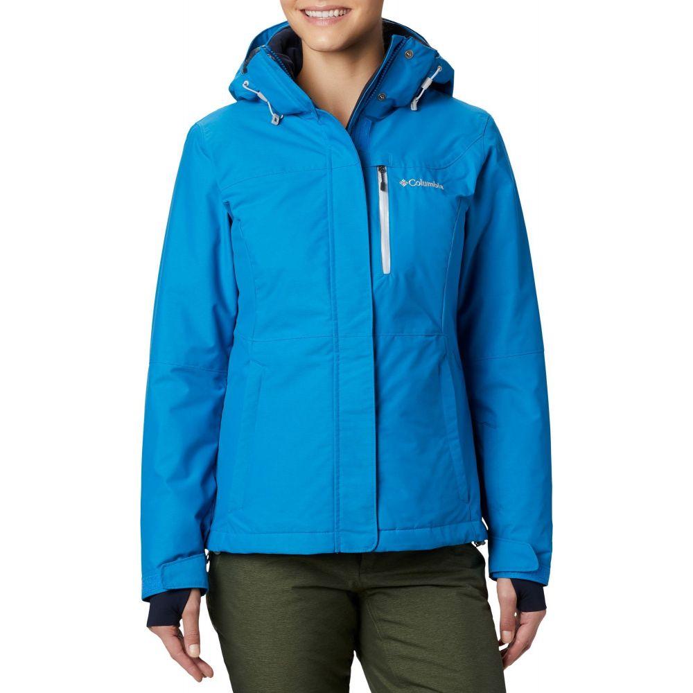 コロンビア Columbia レディース ジャケット アウター【Alpine Action Omni-Heat Jacket】Fathom Blue