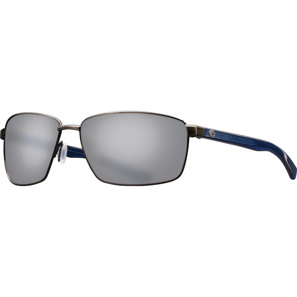 コスタデルメール Costa Del Mar レディース メガネ・サングラス 【Ponce 580P Sunglasses】Brshd Gunmetal/Gry Silver
