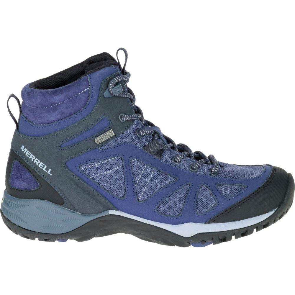 メレル Merrell レディース ハイキング・登山 ブーツ シューズ・靴【Siren Sport Q2 Mid Waterproof Hiking Boots】Crown Blue