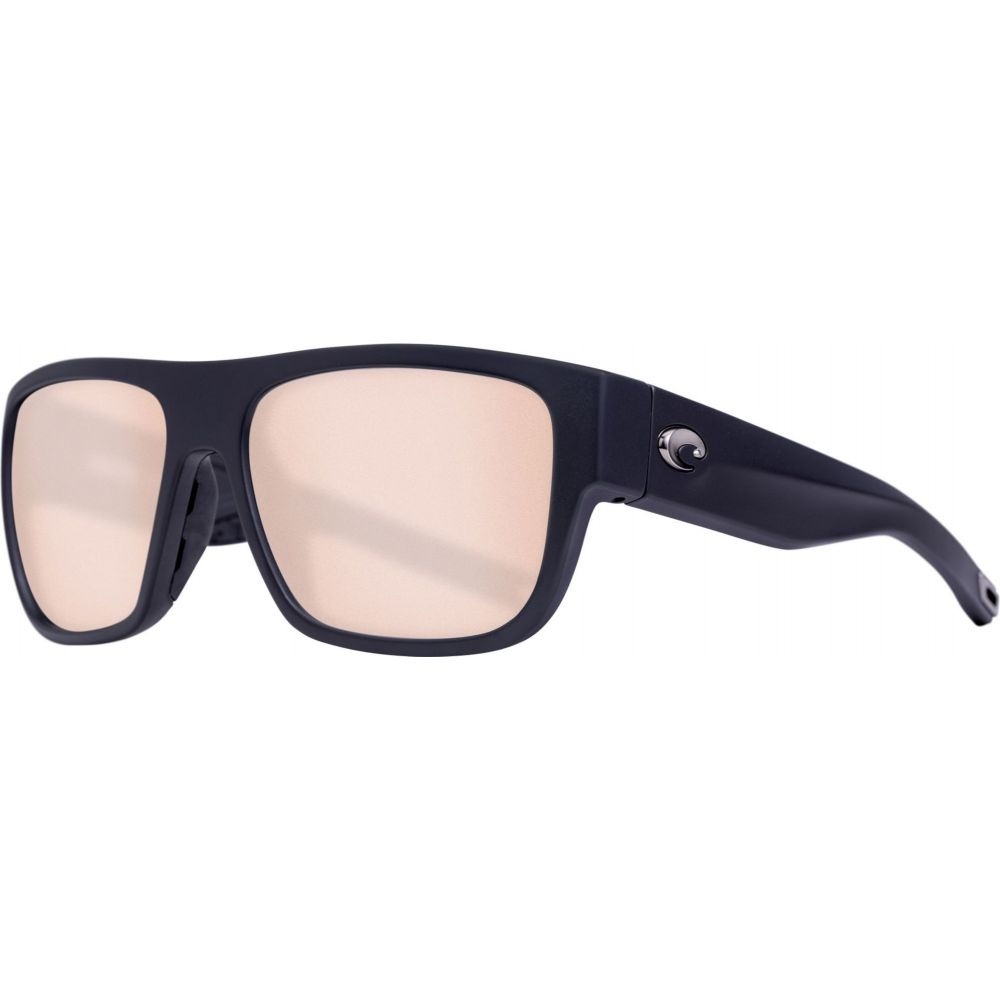コスタデルメール Costa Del Mar レディース メガネ・サングラス 【Sampan 580G Sunglasses】Matte Black/Copper Silver