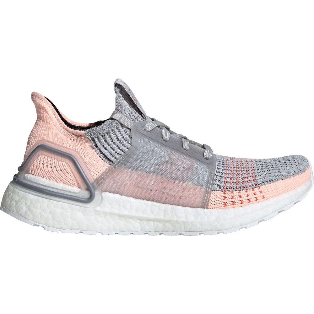 アディダス adidas レディース ランニング・ウォーキング シューズ・靴【Ultraboost 19 Running Shoes】Grey/Clear Orange