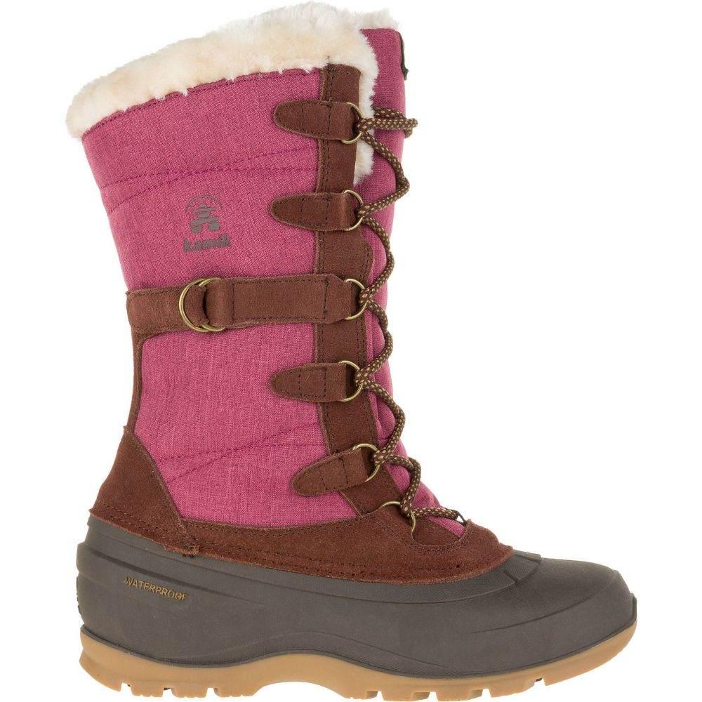 カミック Kamik レディース ブーツ ウインターブーツ シューズ・靴【Snovalley2 200g Waterproof Winter Boots】Burgundy