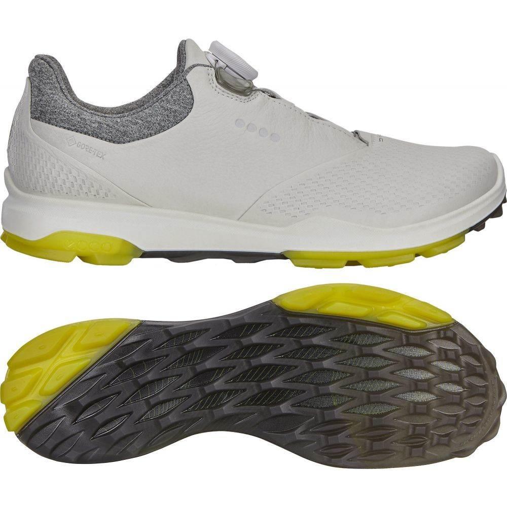 エコー ECCO レディース ゴルフ シューズ・靴【BIOM Hybrid 3 BOA Golf Shoes】White/Canary