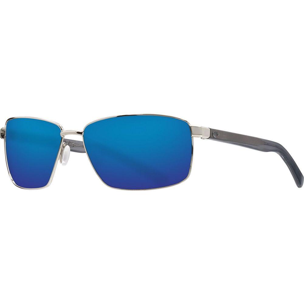 コスタデルメール Costa Del Mar レディース メガネ・サングラス 【Ponce 580G Sunglasses】Shiny Silver/Blue