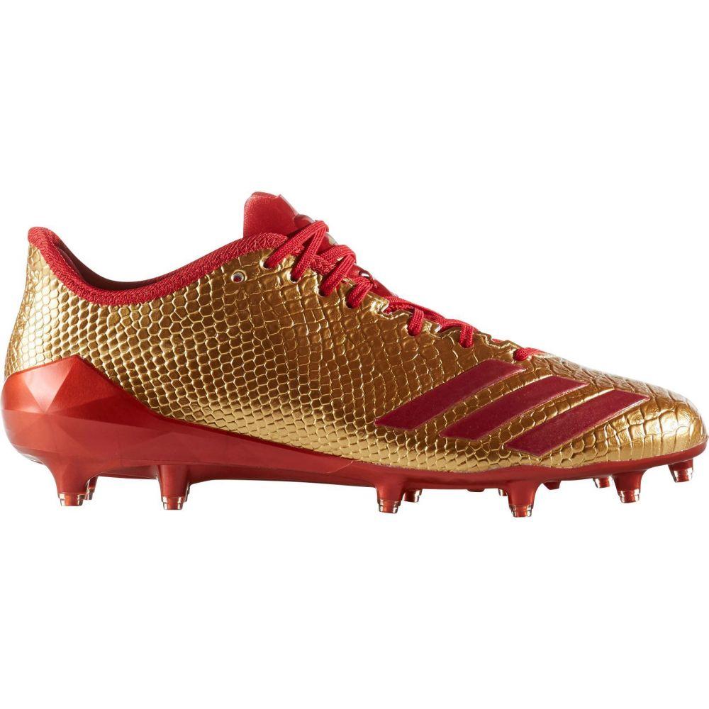 アディダス adidas メンズ アメリカンフットボール スパイク シューズ・靴【adizero 5-Star 6.0 Gold Football Cleats】Gold/Red