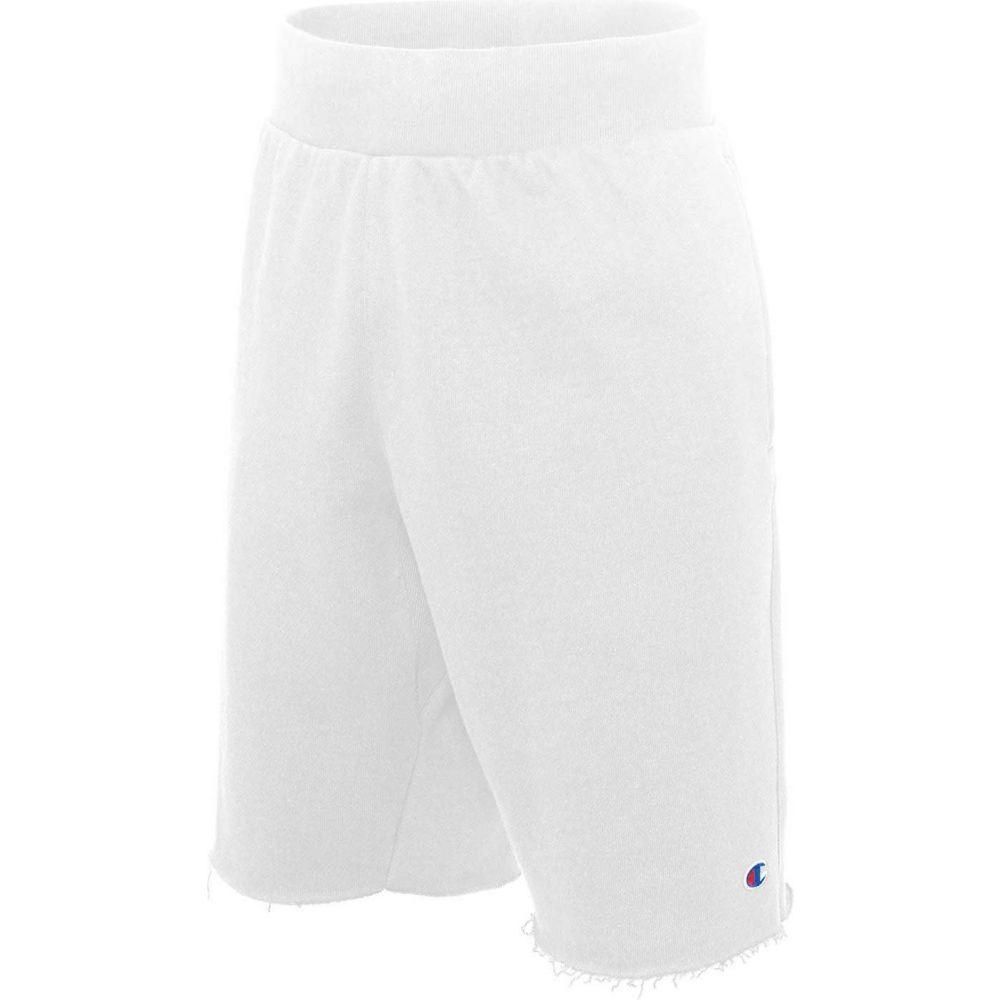 チャンピオン Champion メンズ ショートパンツ ボトムス・パンツ【Life Reverse Weave Cut Off Shorts】White