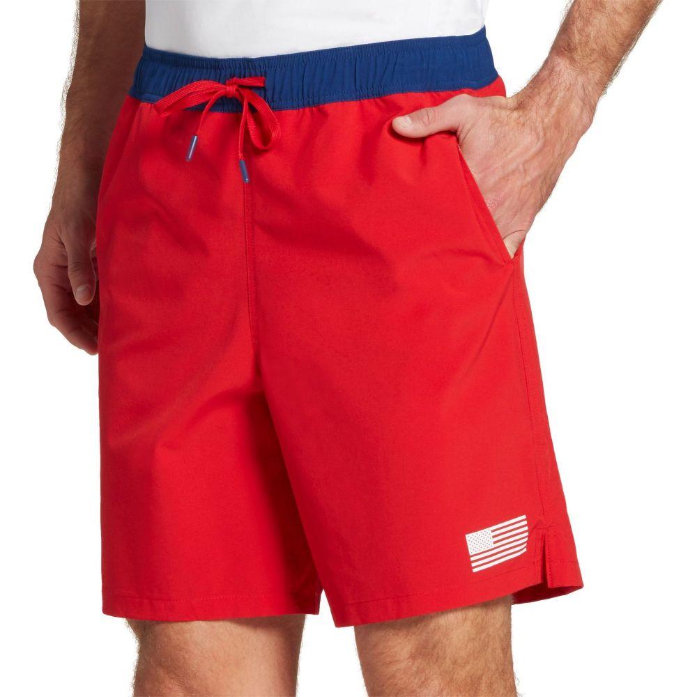 フィールドアンドストリーム Field & Stream メンズ ショートパンツ ボトムス・パンツ【Americana Summer Shorts】Cherry Red