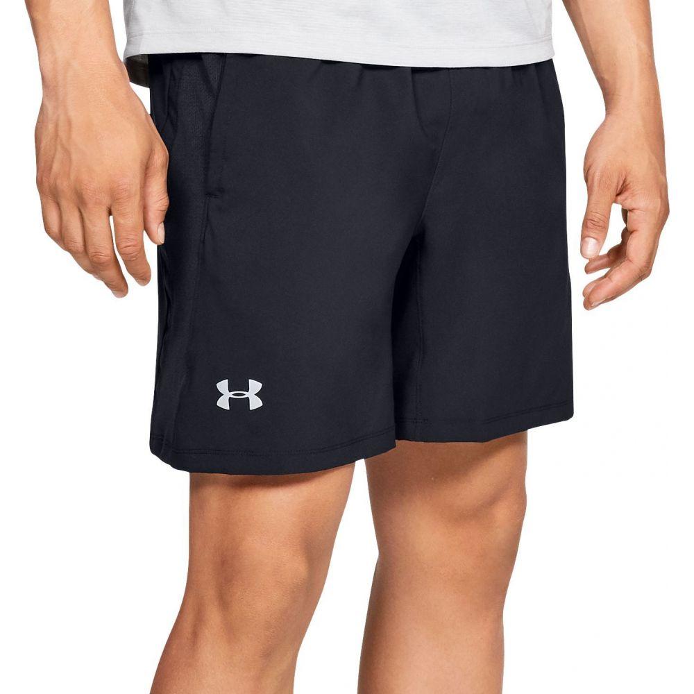 アンダーアーマー Under Armour メンズ ショートパンツ ボトムス・パンツ【Launch SW 2-in-1 Shorts】Black/Black