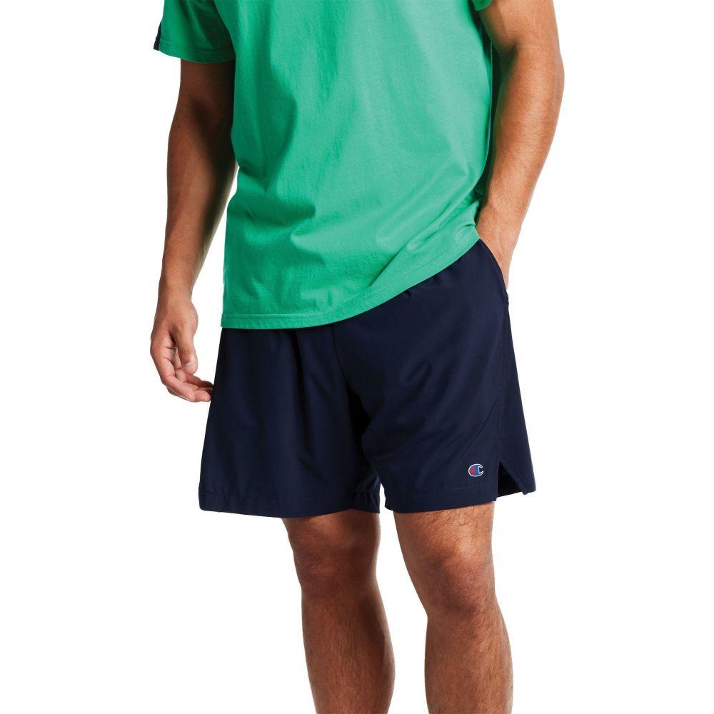 チャンピオン Champion メンズ ショートパンツ ボトムス・パンツ【7'' Lined Sport Shorts】Athletic Navy
