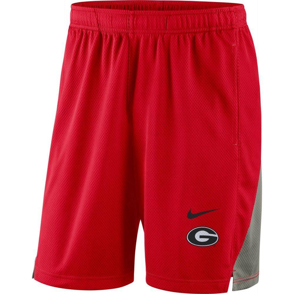 ナイキ Nike メンズ ショートパンツ ボトムス・パンツ【Georgia Bulldogs Red Franchise Shorts】