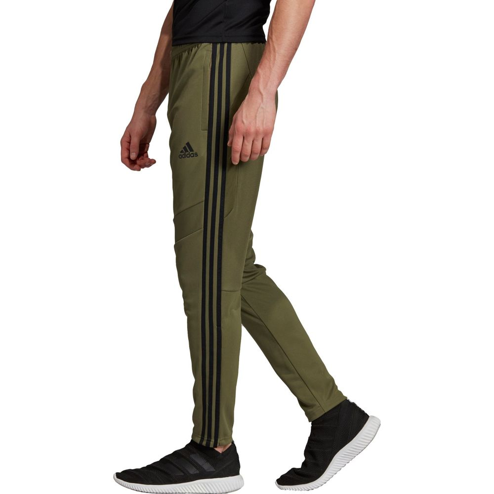 アディダス adidas メンズ フィットネス・トレーニング ボトムス・パンツ【Tiro 19 Training Pants (Regular and Big & Tall)】Raw Khaki/Black