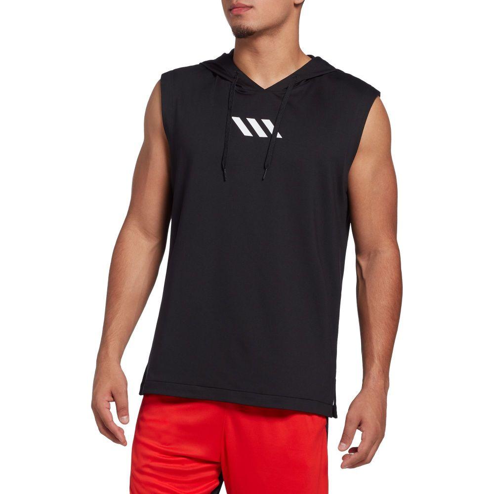アディダス adidas メンズ バスケットボール パーカー トップス【Pro Madness Basketball Hoodie】Black