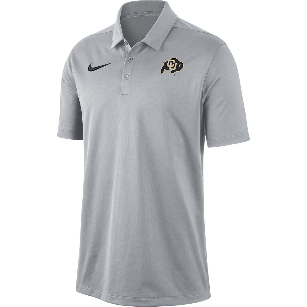 ナイキ Nike メンズ ポロシャツ トップス【Colorado Buffaloes Grey Dri-FIT Franchise Polo】