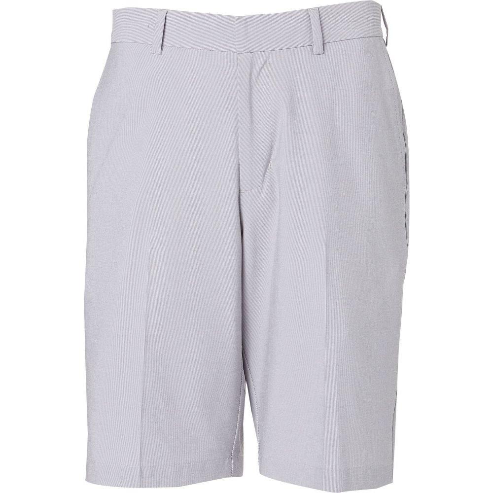 ウォルターヘーゲン Walter Hagen メンズ ゴルフ ショートパンツ ボトムス・パンツ【Essentials Fine Line Pinstripe Golf Shorts】Light Grey