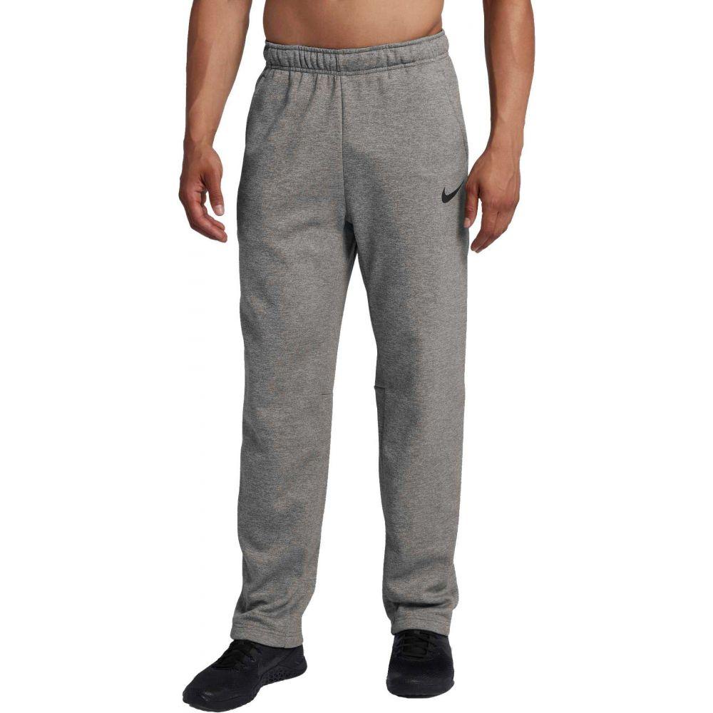 ナイキ Nike メンズ フィットネス・トレーニング ボトムス・パンツ【Therma Training Pants (Regular and Big & Tall)】Dk Grey Heather/Black
