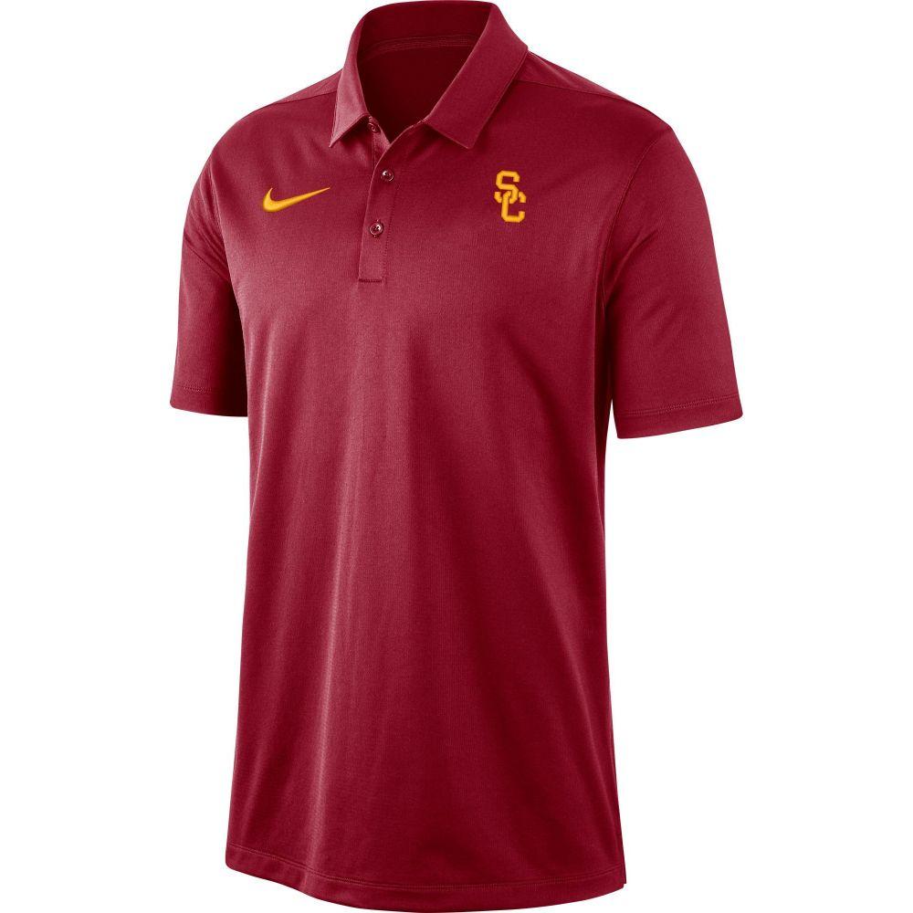 ナイキ Nike メンズ ポロシャツ トップス【USC Trojans Cardinal Dri-FIT Franchise Polo】