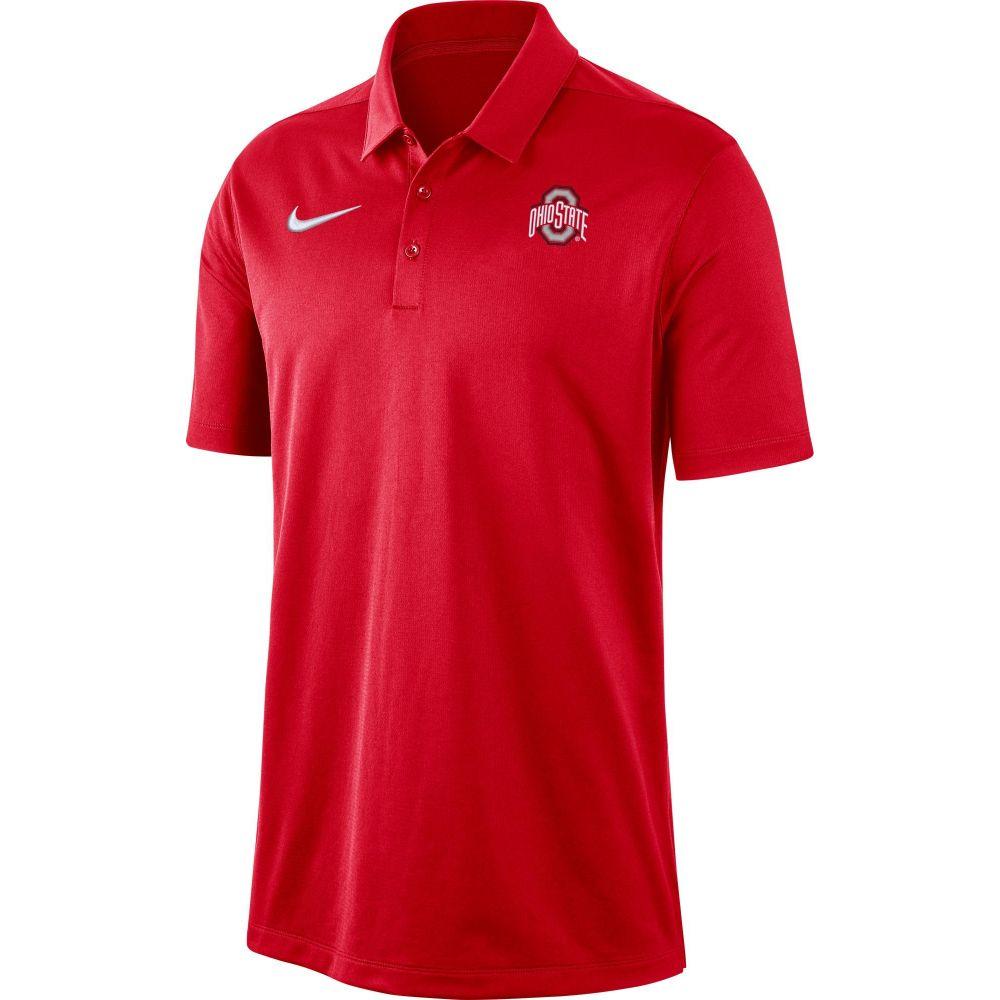 ナイキ Nike メンズ ポロシャツ トップス【Ohio State Buckeyes Scarlet Dri-FIT Franchise Polo】