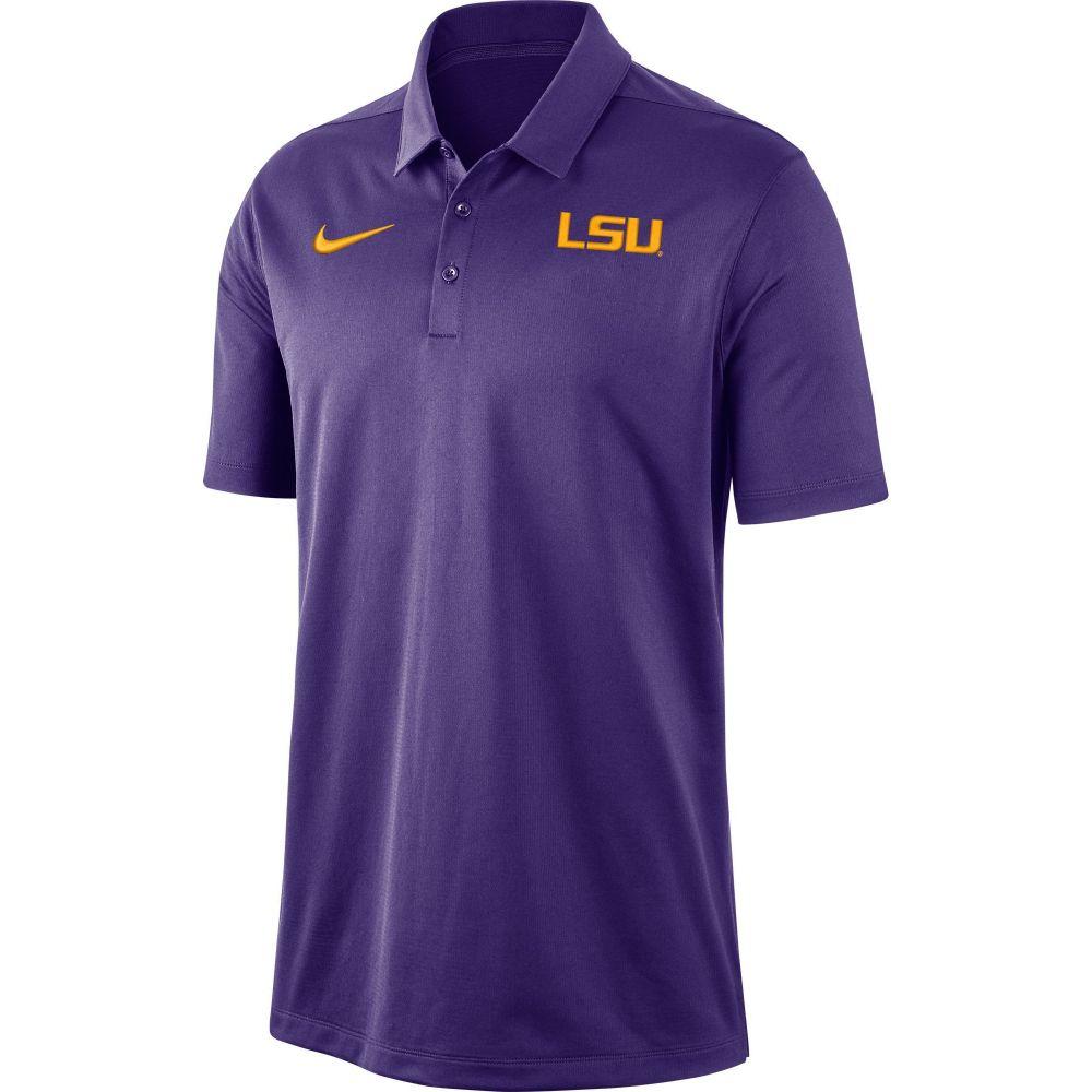 ナイキ Nike メンズ ポロシャツ トップス【LSU Tigers Purple Dri-FIT Franchise Polo】