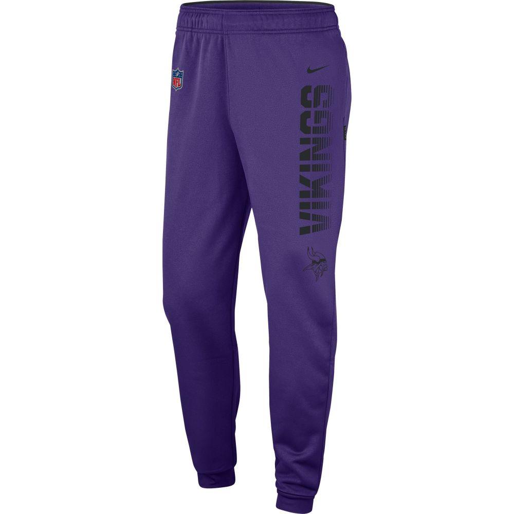 ナイキ Nike メンズ フィットネス・トレーニング ボトムス・パンツ【Minnesota Vikings Sideline Therma-FIT Performance Purple Pants】