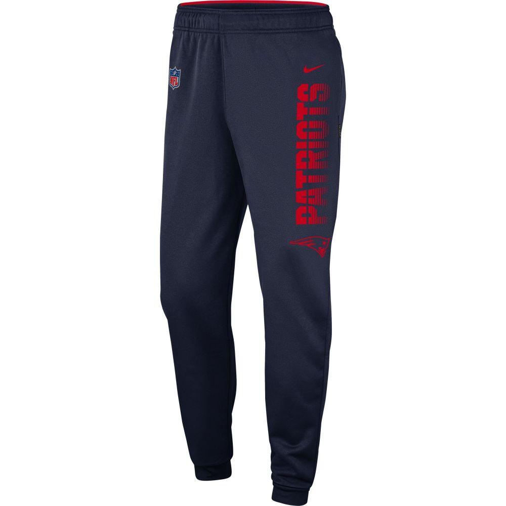 ナイキ Nike メンズ フィットネス・トレーニング ボトムス・パンツ【New England Patriots Sideline Therma-FIT Performance Navy Pants】
