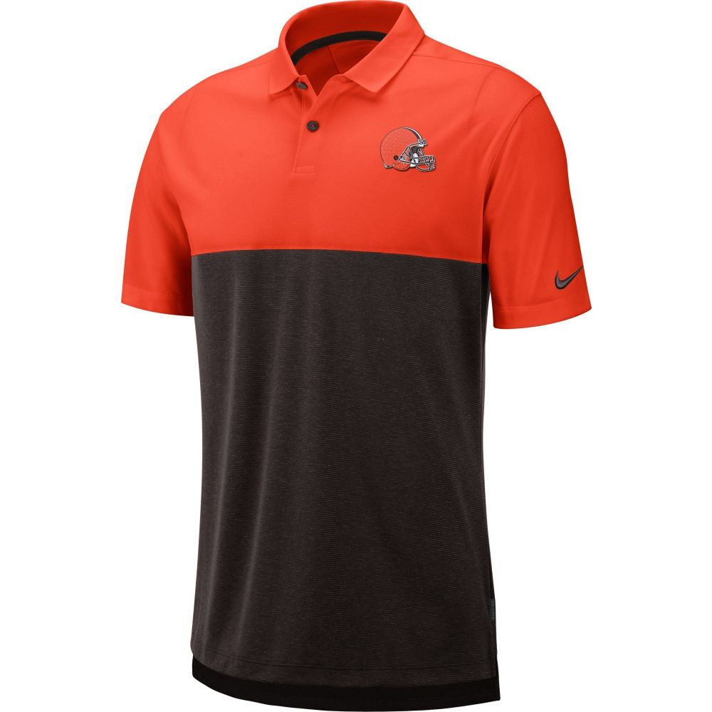 ナイキ Nike メンズ ポロシャツ トップス【Cleveland Browns Sideline Early Season Orange Polo】