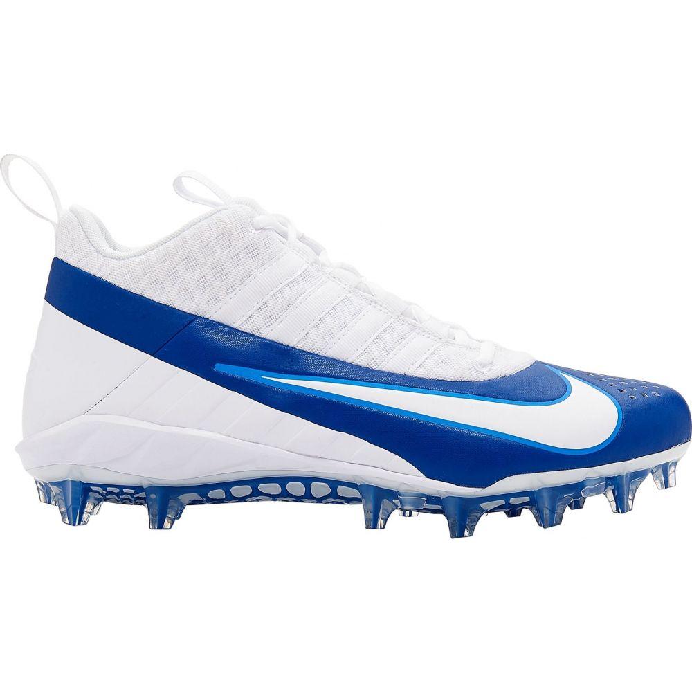 ナイキ Nike メンズ ラクロス スパイク シューズ・靴【Alpha Huarache 6 Pro Lacrosse Cleats】White/Blue