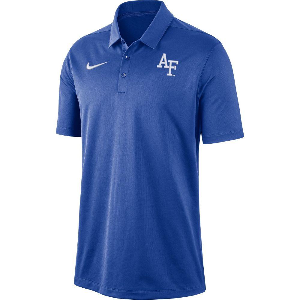ナイキ Nike メンズ ポロシャツ トップス【Air Force Falcons Blue Dri-FIT Franchise Polo】