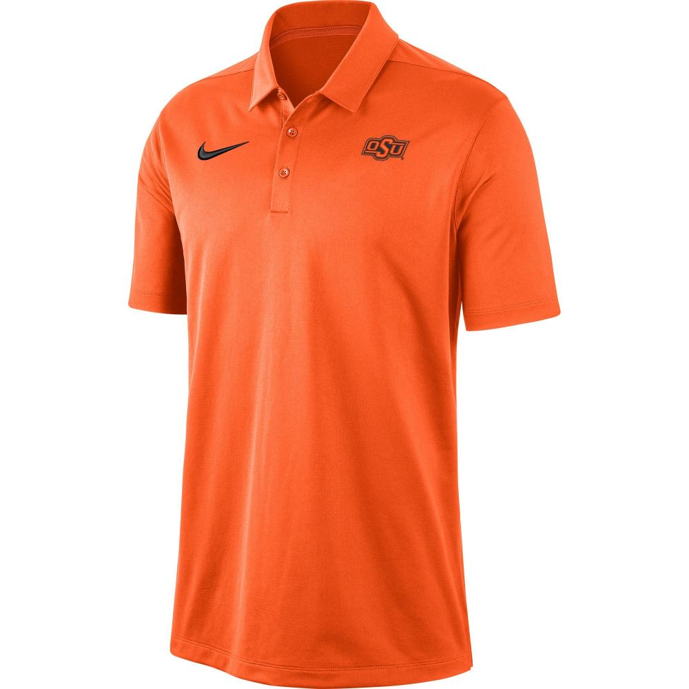 ナイキ Nike メンズ ポロシャツ トップス【Oklahoma State Cowboys Orange Dri-FIT Franchise Polo】