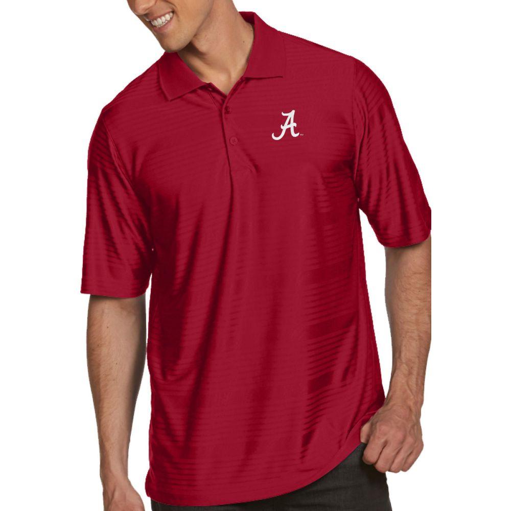 アンティグア Antigua メンズ ポロシャツ トップス【Alabama Crimson Tide Crimson Illusion Polo】
