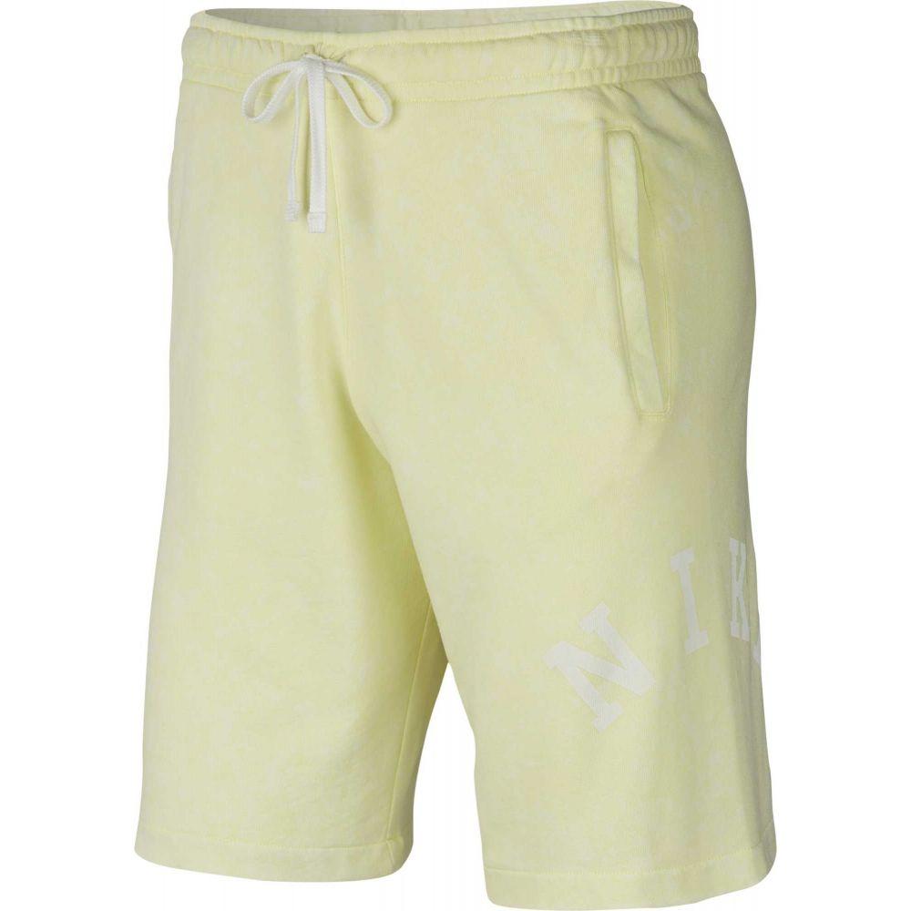 ナイキ Nike メンズ フィットネス・トレーニング ショートパンツ ボトムス・パンツ【Sportswear French Terry Wash Shorts】Luminous Green/Summit Wte