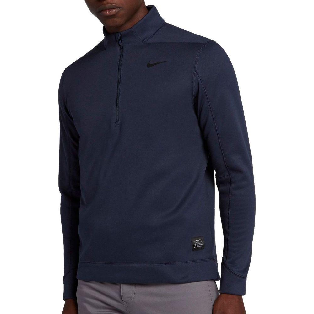ナイキ Nike メンズ ゴルフ トップス【Therma Repel Golf 1/4 Zip】College Navy