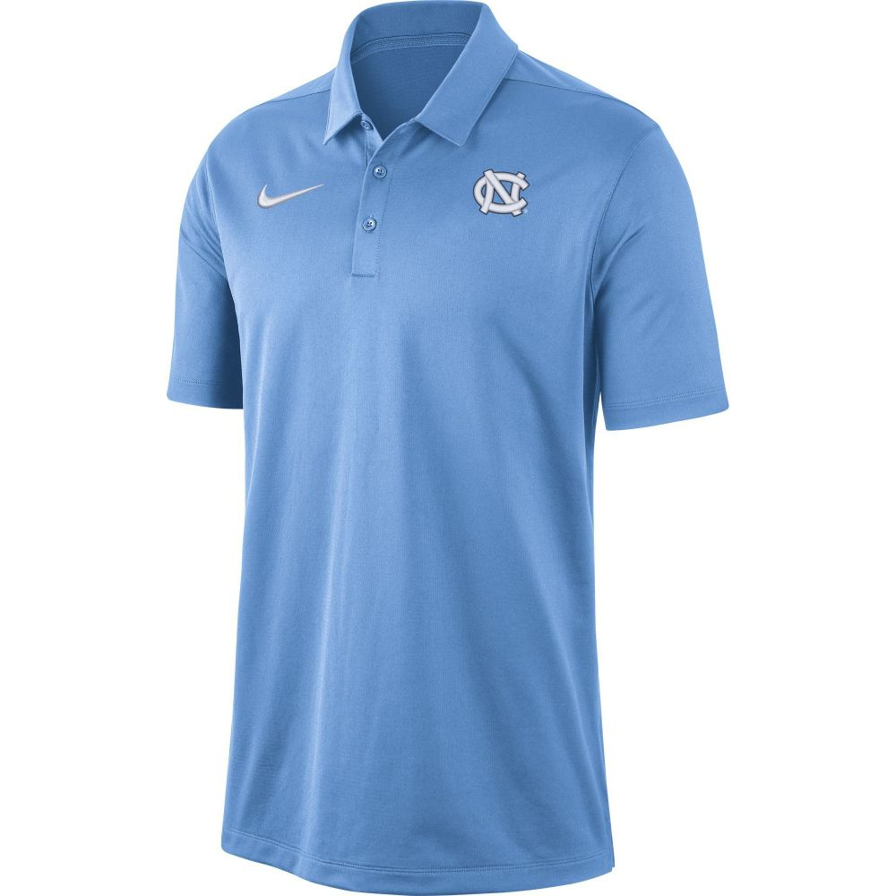 ナイキ Nike メンズ ポロシャツ トップス【North Carolina Tar Heels Carolina Blue Dri-FIT Franchise Polo】