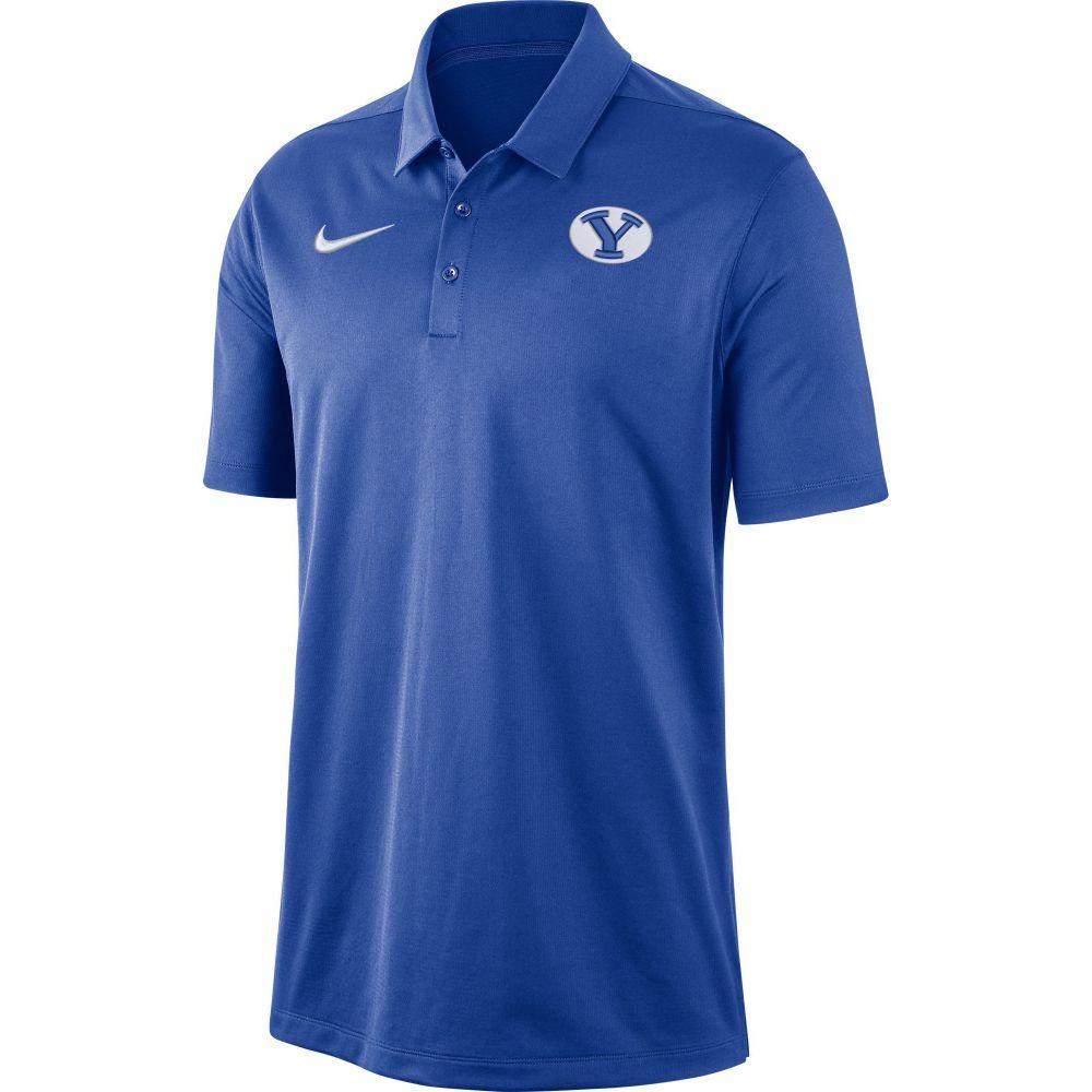 ナイキ Nike メンズ ポロシャツ トップス【BYU Cougars Blue Dri-FIT Franchise Polo】