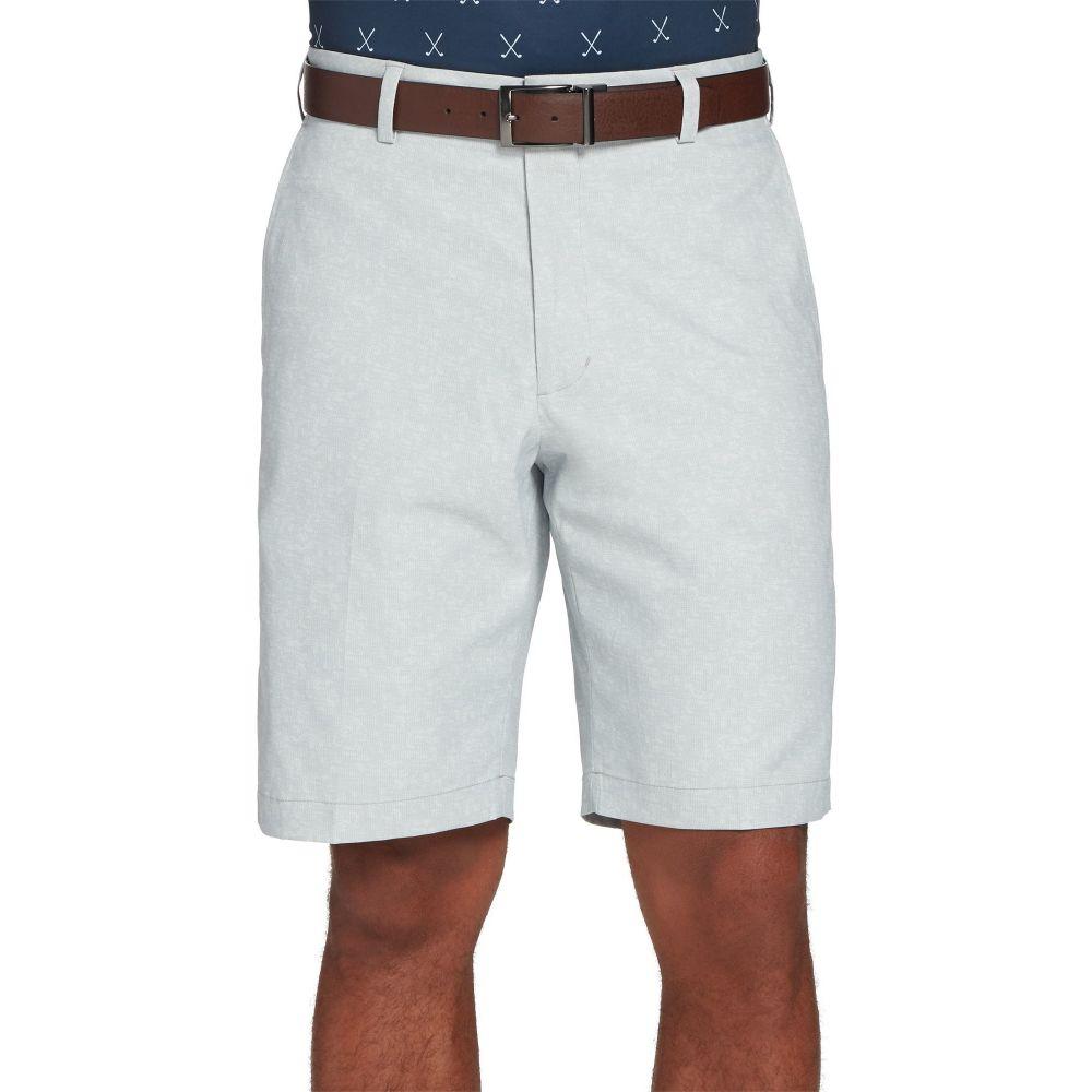 ウォルターヘーゲン Walter Hagen メンズ ゴルフ ショートパンツ ボトムス・パンツ【Perfect 11 Textured Printed Golf Shorts】Slab Grey