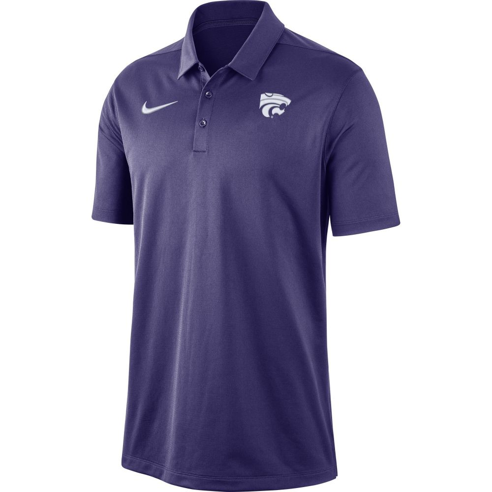 ナイキ Nike メンズ ポロシャツ トップス【Kansas State Wildcats Purple Dri-FIT Franchise Polo】