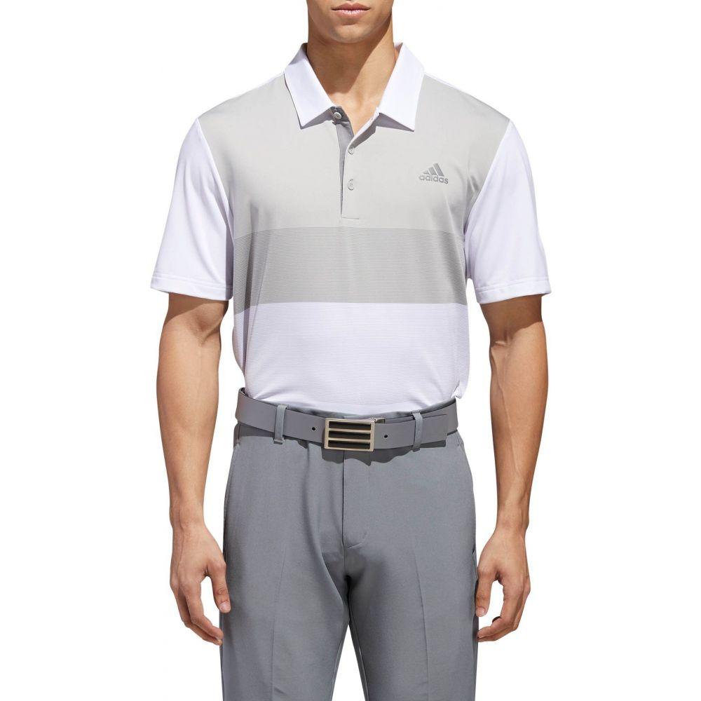 アディダス adidas メンズ ゴルフ ポロシャツ トップス【Ultimate365 Colorblock Golf Polo】White